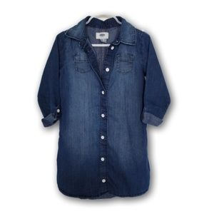 Denim Shirt Dress size 5t